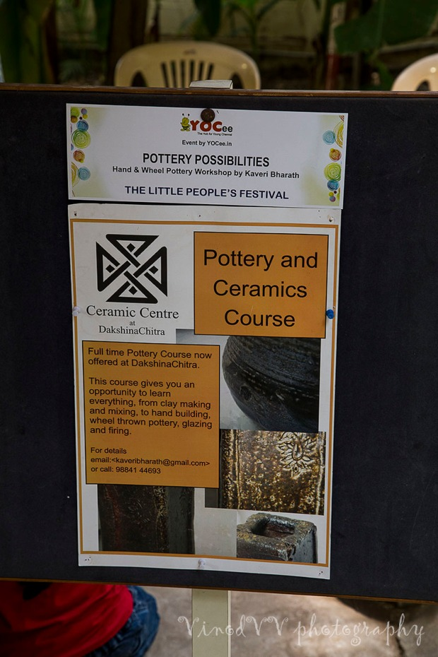 pottery class contact