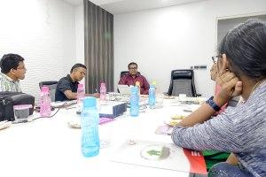 Urban Tree - MD Abhishek Mehta interaction with bloggers