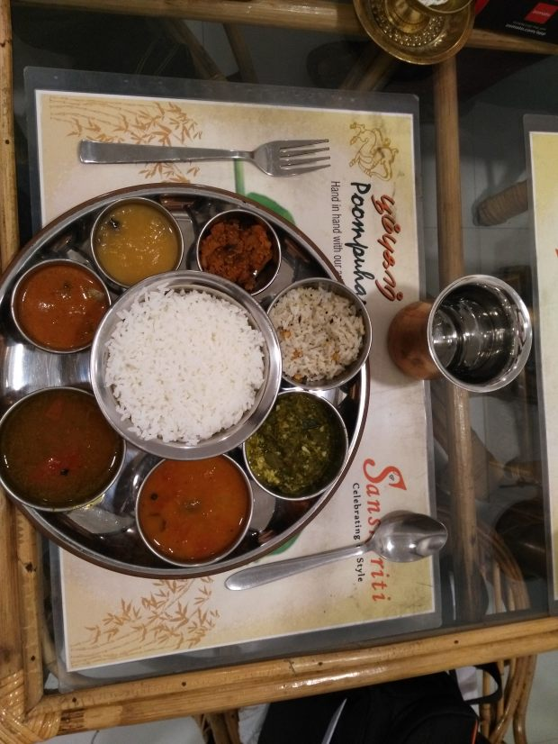 Poompuhar Craft Cafe - meals